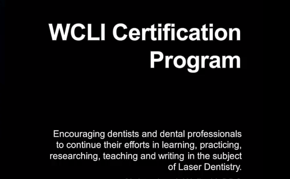 WCLI Certification Program